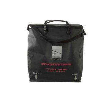Preston Innovations Monster EVA Net Bag zwart foreltas witvistas