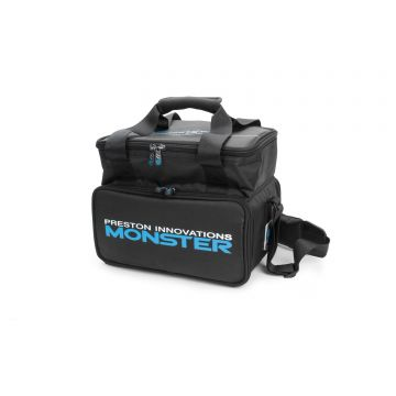 Preston Innovations Monster Feeder Case zwart foreltas witvistas