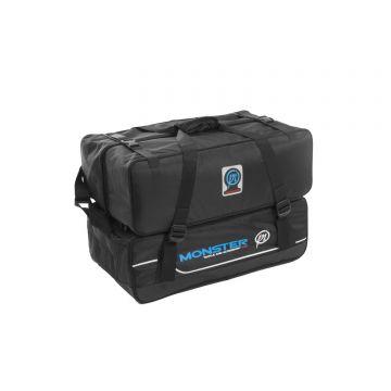 Preston Innovations Monster Tackle & Accessory Bag zwart foreltas witvistas