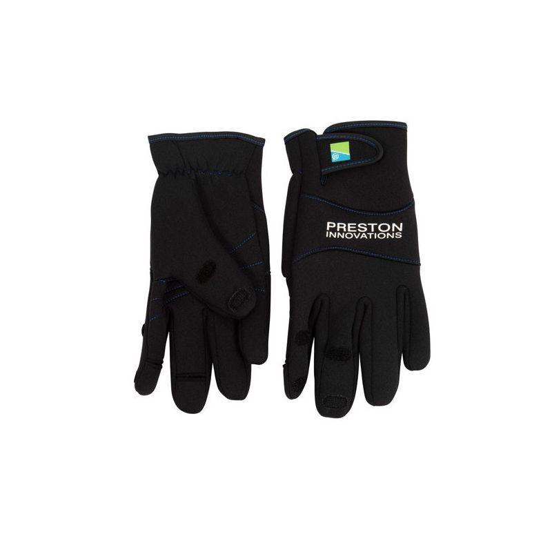 Preston Innovations Neoprene Gloves noir  L/xl