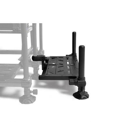 Preston Innovations Offbox Side Foot Rest zwart witvis
