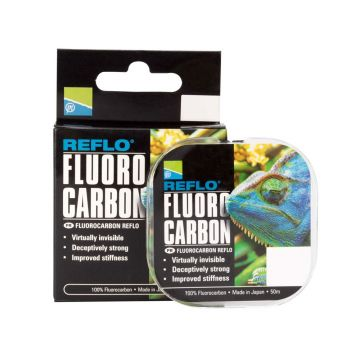 Preston Innovations Reflo Fluorocarbon clear visdraad 0.18mm 50m 2.407kg