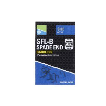 Preston Innovations SFL-B Spade End Hooks nickel vishaak 20
