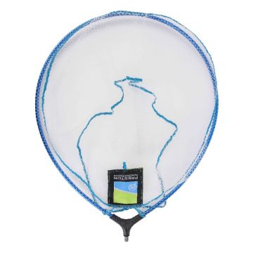 "Preston Innovations Supalite Landing Net blauw - clear visschepnet 18"" - 45cm"