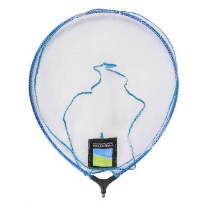 "Preston Innovations Supalite Landing Net blauw - clear visschepnet 18"" - 45cm"