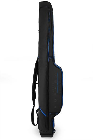Preston Innovations Supera Compact Rod Holdall zwart - blauw visfoudraal 1m75 6-rod