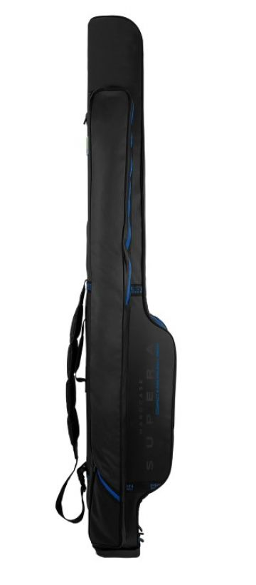 Preston Innovations Supera Compact Rod Holdall zwart - blauw visfoudraal 1m95 6-rod