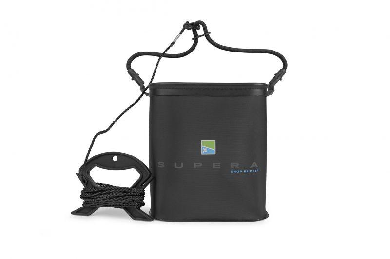 Preston Innovations Supera Drop Bucket zwart visemmer