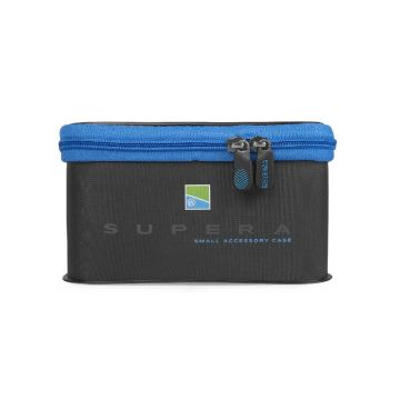 Preston Innovations Supera EVA Accessory Case zwart - blauw foreltas witvistas Small