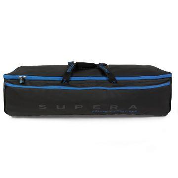Preston Innovations Supera Roller & Roost Bag zwart - blauw foreltas witvistas