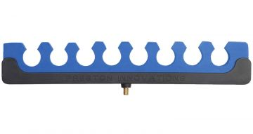 Preston Innovations Top Roost Kit 8 Section zwart - blauw hengelsteun