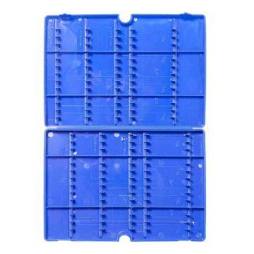 Prestoninno Allround Hooklenght Retaining System blauw visdoos