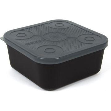 Prestoninno Bait Tubs zwart - clear madendoos 3.00pt