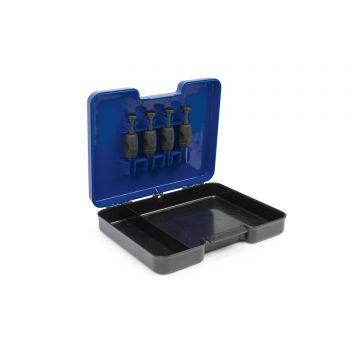Prestoninno Commercial Punch Kit zwart - blauw klein vismateriaal