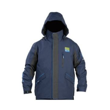 Prestoninno DF15 Jacket zwart - blauw visjas Xxx-large