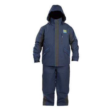Prestoninno DF15 Suit zwart - blauw warmtepak Large