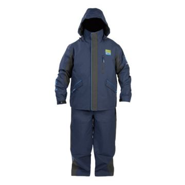 Prestoninno DF15 Suit zwart - blauw warmtepak Medium