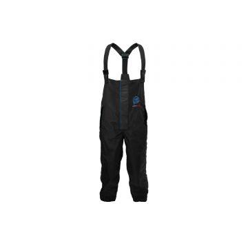 Prestoninno DF25 Bib & Brace zwart - blauw visbroek