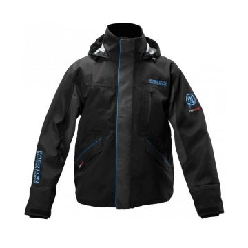 Prestoninno DF25 Jacket zwart - blauw visjas X-large