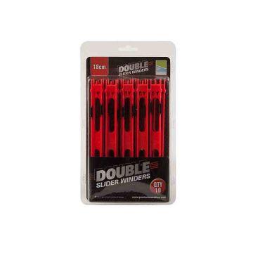 Prestoninno Double Slider Winders rood onderlijn plankje 18cm