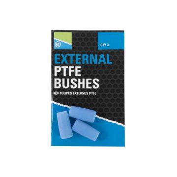 Prestoninno External PTFE Bushes blauw witvis toebehoor viselastiek 1.40mm