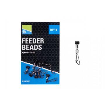 Prestoninno Feeder Beads nickel klein vismateriaal