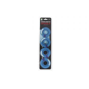 Prestoninno Hooklength Spools blauw onderlijn plankje