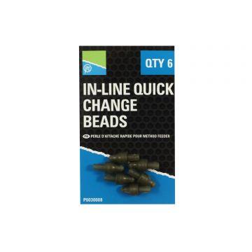 Prestoninno In-line Quick Change Beads bruin klein vismateriaal