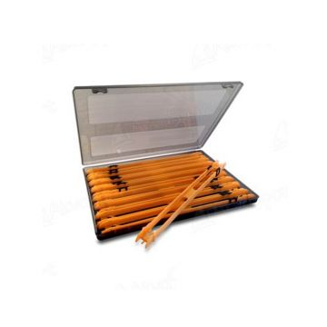 Prestoninno Inbox Double Winder Box oranje onderlijn plankje 26cm