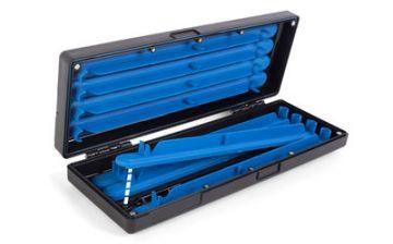 Prestoninno Mag Store System Hooklength Box noir - bleu  15cm