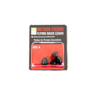 Prestoninno Method Feeder Flying Backleads nickel klein vismateriaal 1.50g