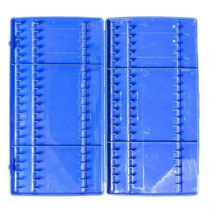 Prestoninno Method Hooklenght Retaining System blauw visdoos
