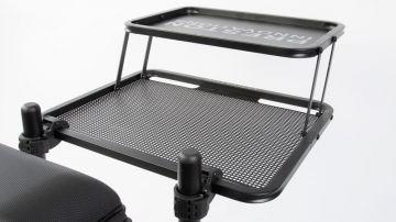 Preston Innovations Offbox Double Decker Side Tray zwart witvis  Large