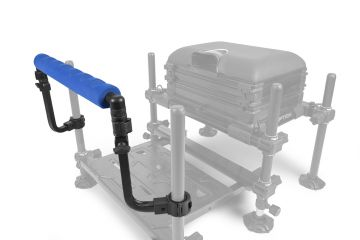 Prestoninno Offbox Pole Support zwart - blauw witvis