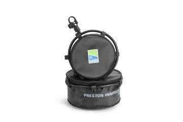 Prestoninno Offbox Pro EVA Bowl & Hoop zwart witvis  Large