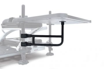 Prestoninno Offbox Pro Uni Side Tray Support Arm zwart witvis