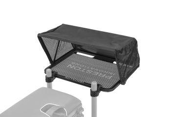 Preston Innovations Offbox Venta-Lite Hoodie Side Tray zwart witvis  30x56x40cm