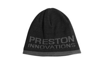 Prestoninno Preston Black Grey Beanie Hat zwart - grijs muts Uni