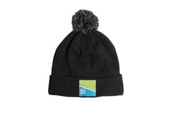 Prestoninno Preston Bobble Hat zwart - grijs muts Uni