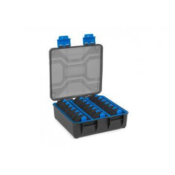 Prestoninno Revalution Storage System zwart - blauw visdoos