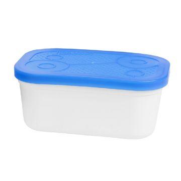 Prestoninno White Bait Tubs wit - blauw madendoos 1.00pt