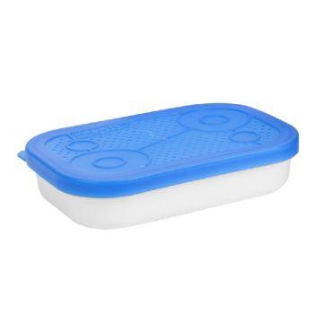 Prestoninno White Bait Tubs wit - blauw madendoos 0.50pt
