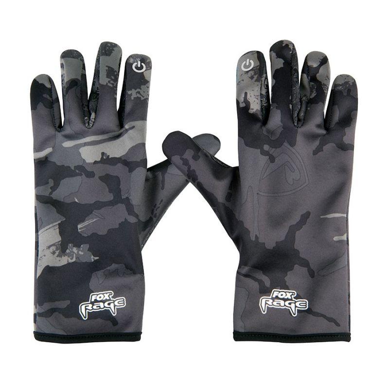 Foxrage Rage Thermal Gloves noir - gris  Medium