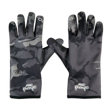 Foxrage Rage Thermal Gloves noir - gris  X-large