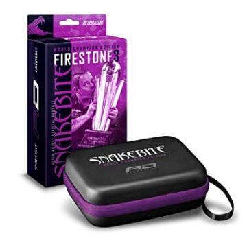 Red Dragon Snakebite Firestone III Wallet zwart - paars