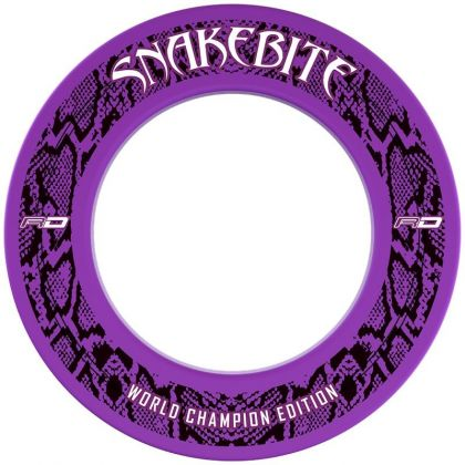 Red Dragon Snakebite WC Edition Surround paars - wit