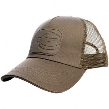 Ridgemonkey APEarel Dropback Pastel Trucker Cap bruin pet Uni