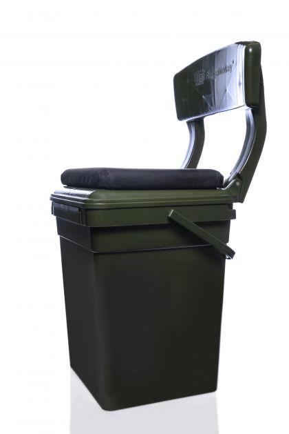 Ridgemonkey CoZee Bucket Seat Full Kit groen visemmer