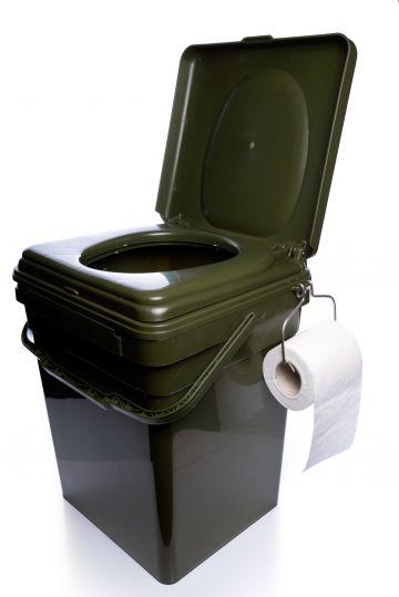 Ridgemonkey CoZee Toilet Seat Full Kit groen karper visemmer