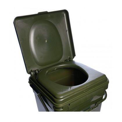 Ridgemonkey Cozee Toilet Seat groen visemmer